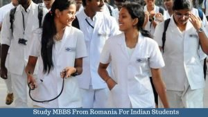 Study MBBS From Romania For Indian Students